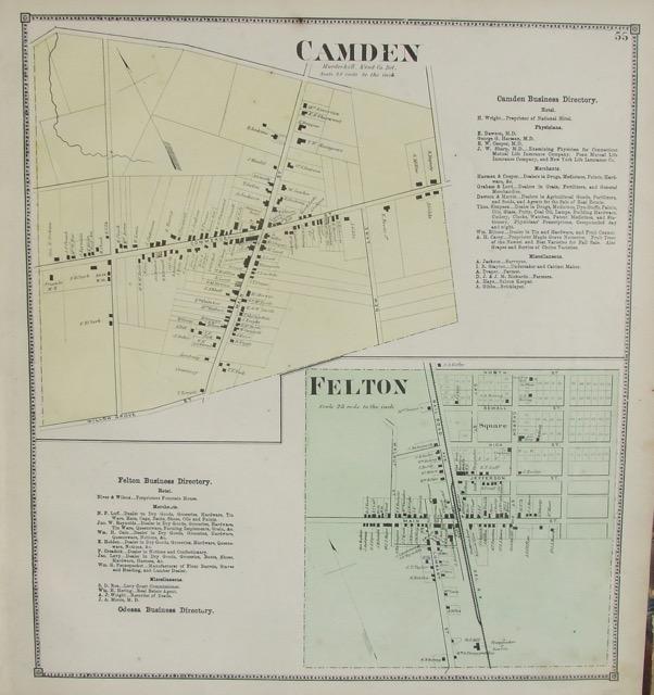 Leipsic / Fredrica, Camden / Felton
