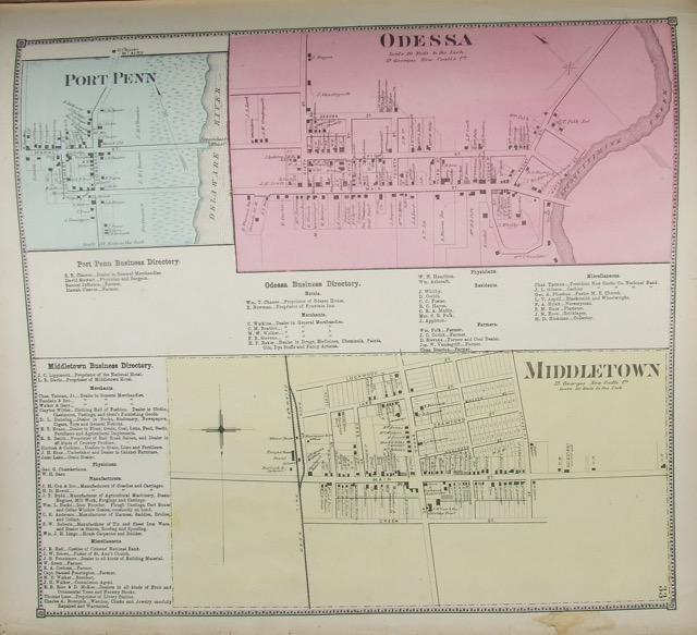 Odessa / Port Penn / Middletown