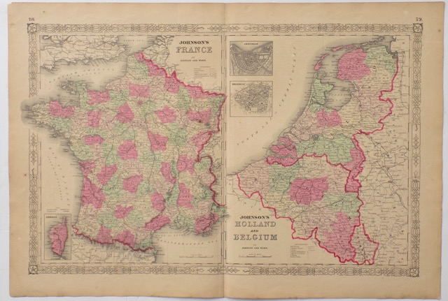France, Holland & Belgium, 1862