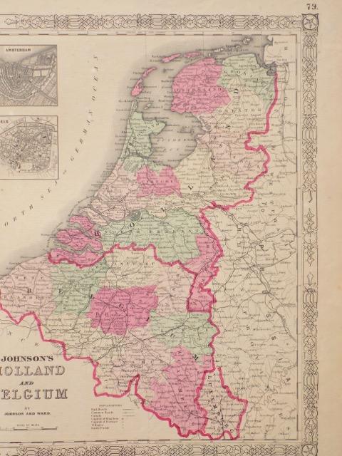 France, Holland & Belgium, 1862