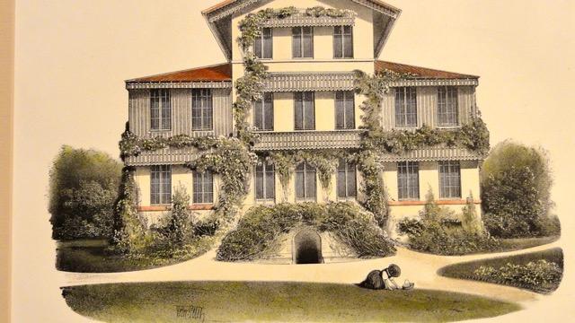 Maison de Campagne, 1861