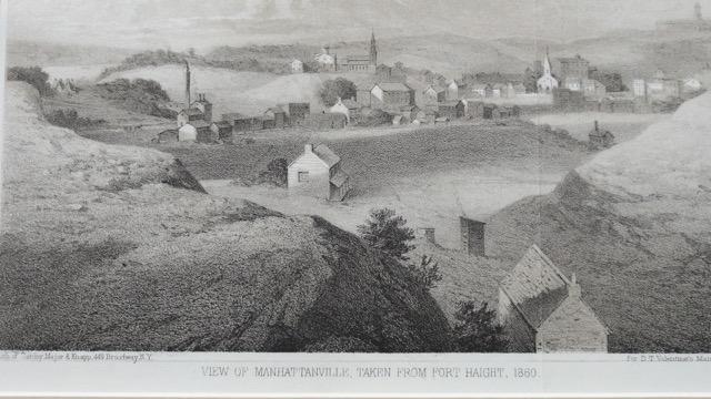 View of Manhantanville, taken from Fort Haight (Harlem), c. 1861