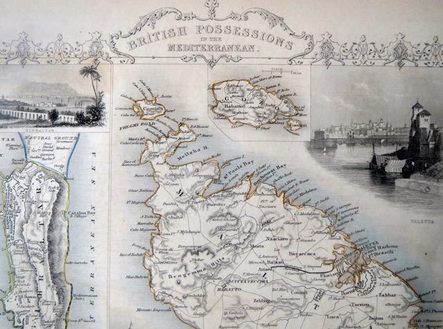 British Possessions in the Mediterranean