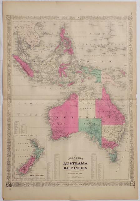 Australia & East Indies, 1862
