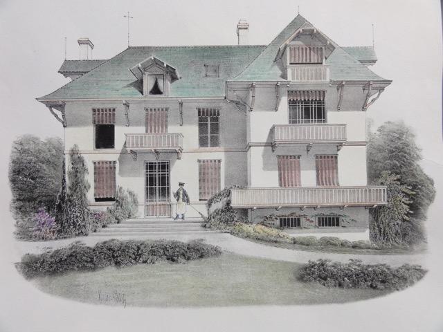 Habitation Bourgeoise, 1860