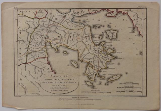 Greece: Argolis, Epidauria, Trezenia, Hermoinis & Isle of Aegina