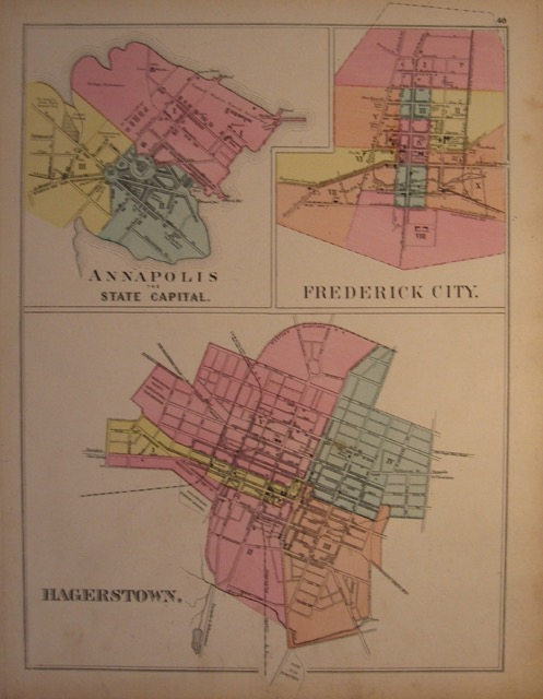 Annapolis, Frederick City and Hagerstown