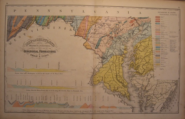 Geological Formations of Maryland