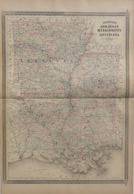 Arkansas, Mississippi, Louisiana, 1868