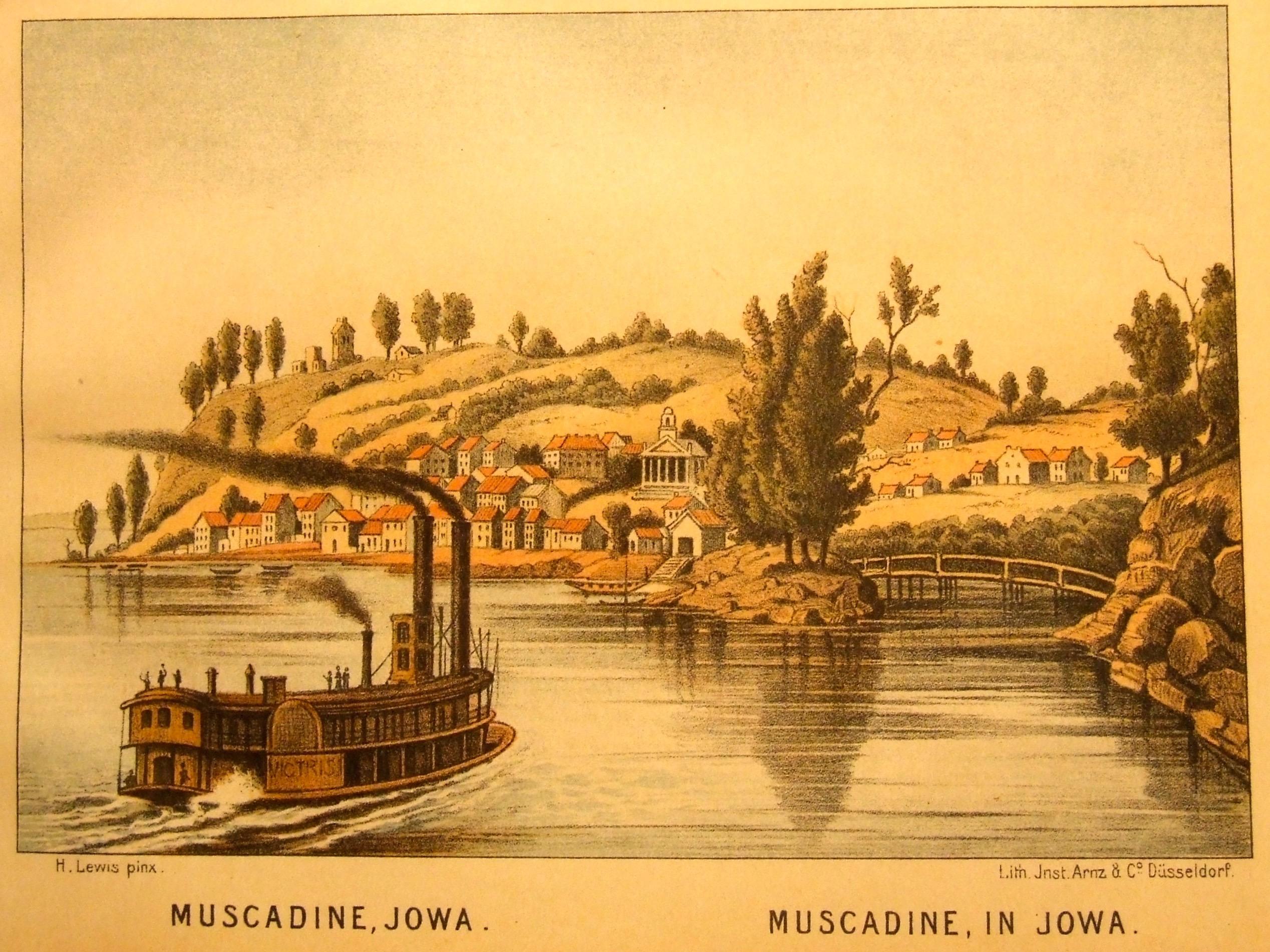 Muscadine, IA