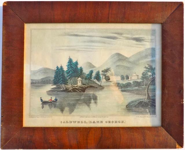 Caldwell, Lake George, c. 1850 (Framed)