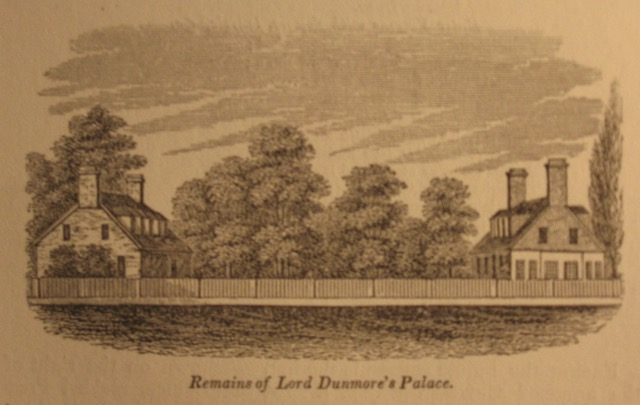 The Remains of Lord Dunmore\'s Palace