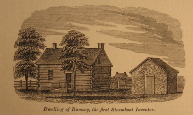 Rumsey, Steamboat Inventor