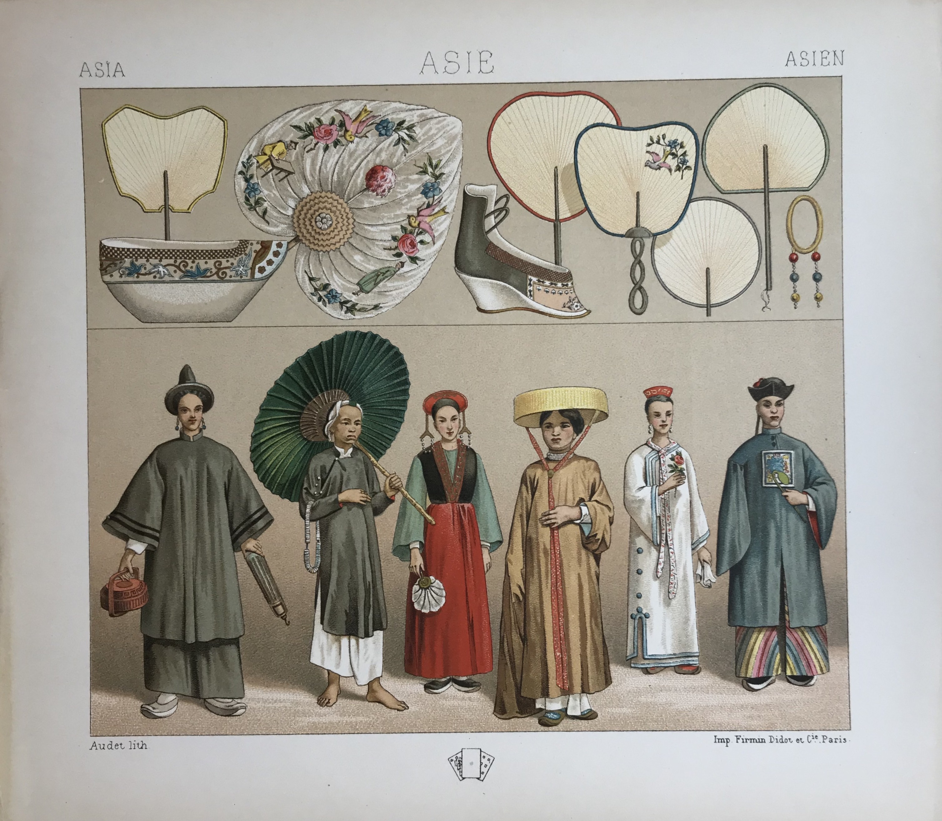 Asia, Historic Costumes