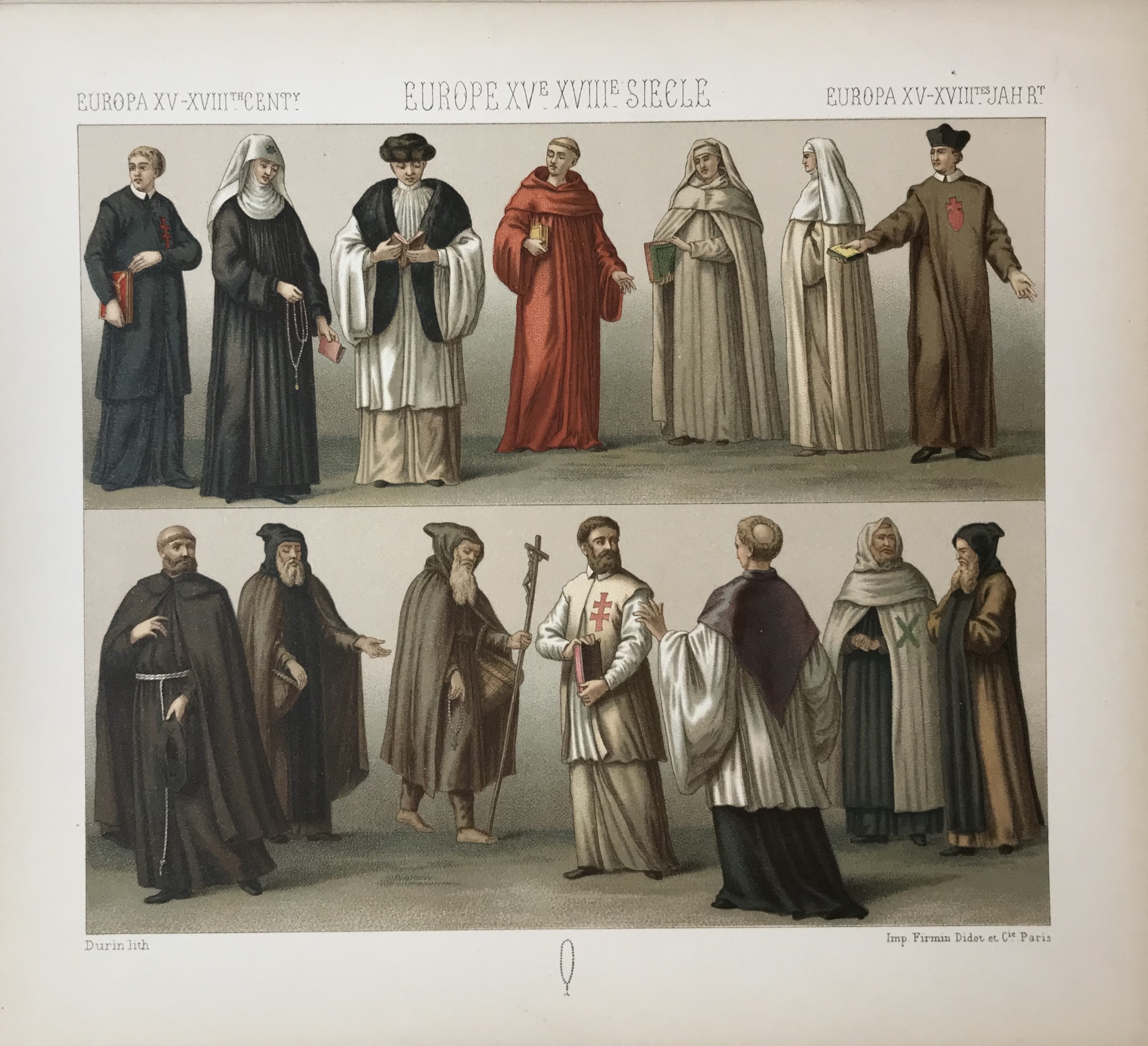 Europe 15th-17th Century, Historic Costumes