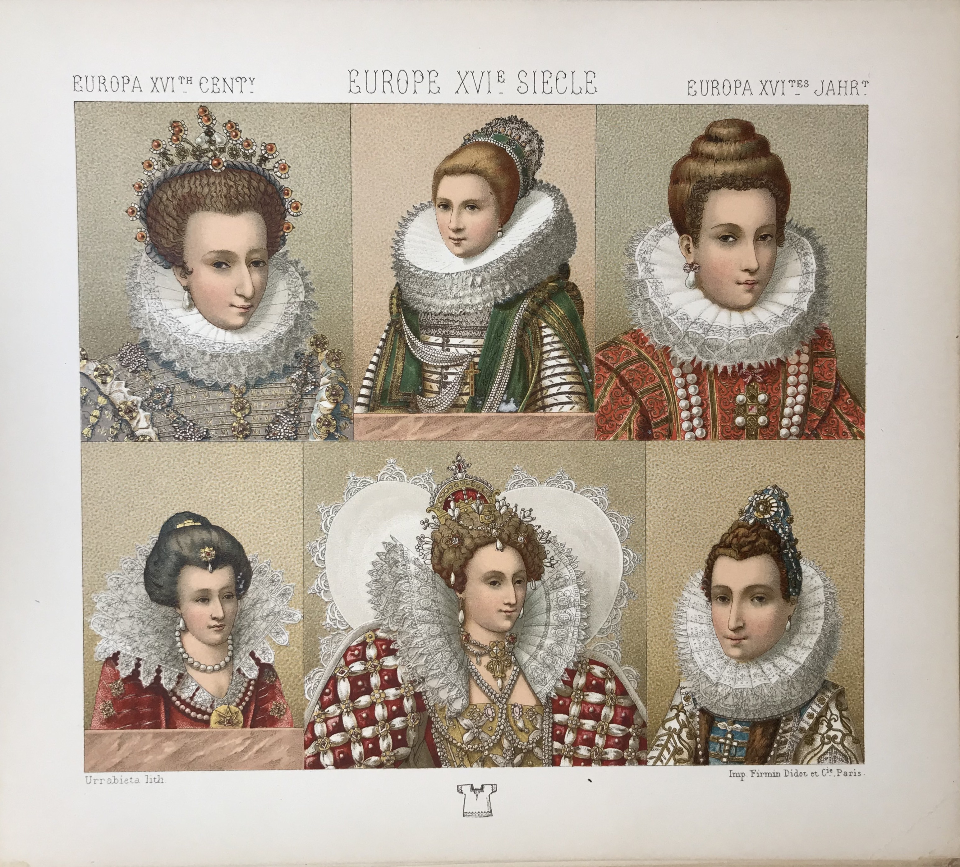 Europe 16th Century, Historic Costumes