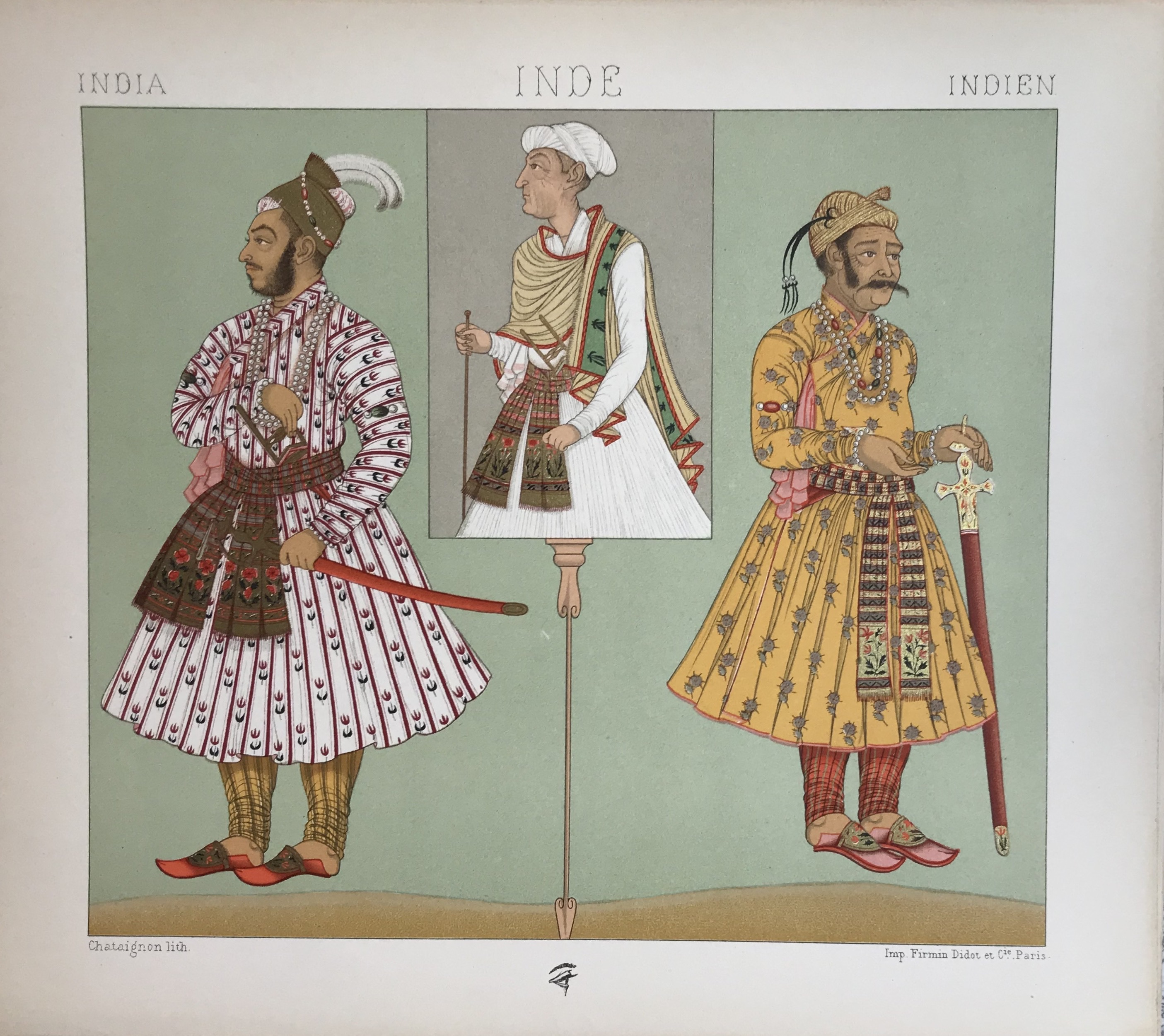 India, Historic Costumes