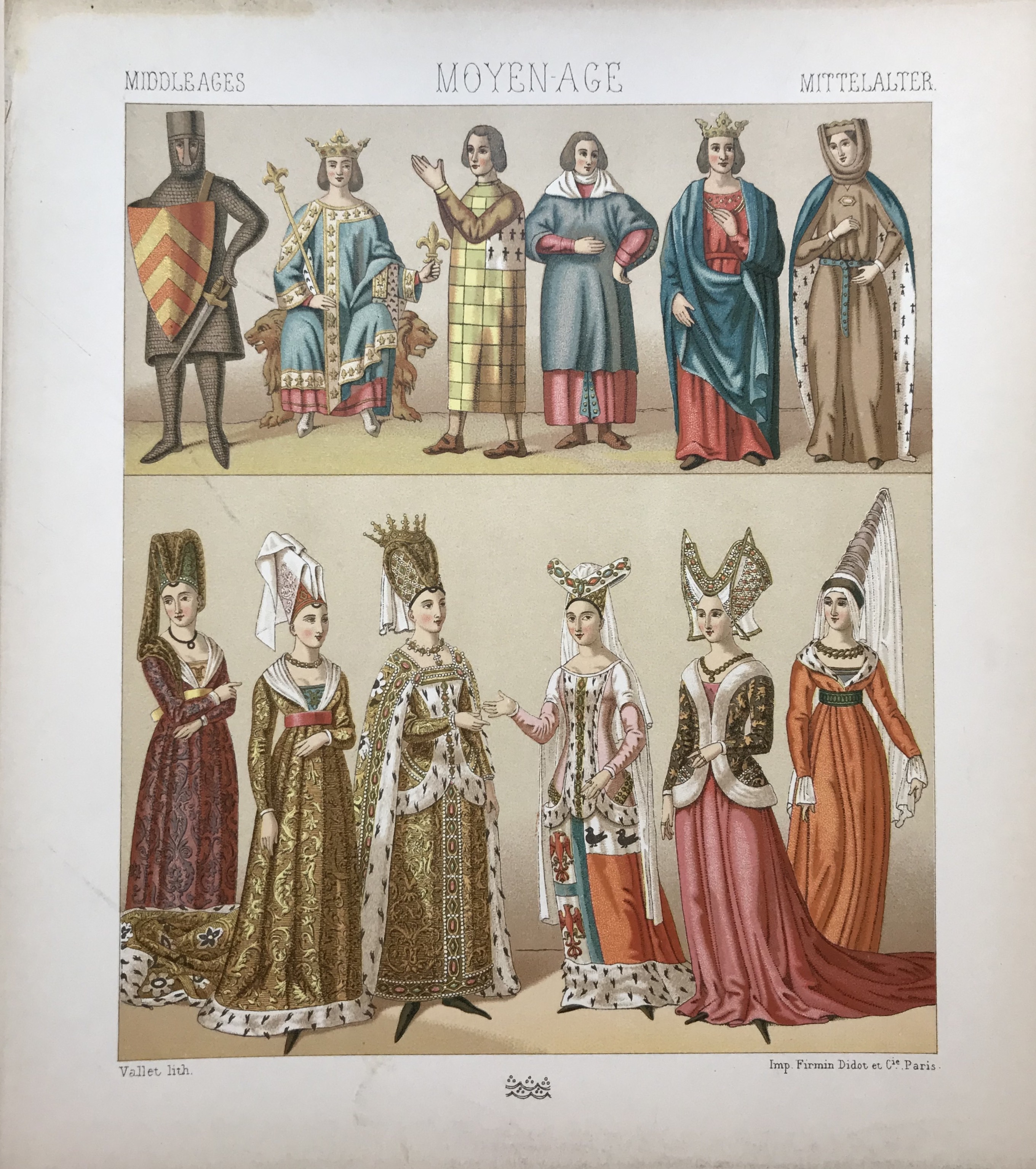 Middle Ages, Historic Costumes