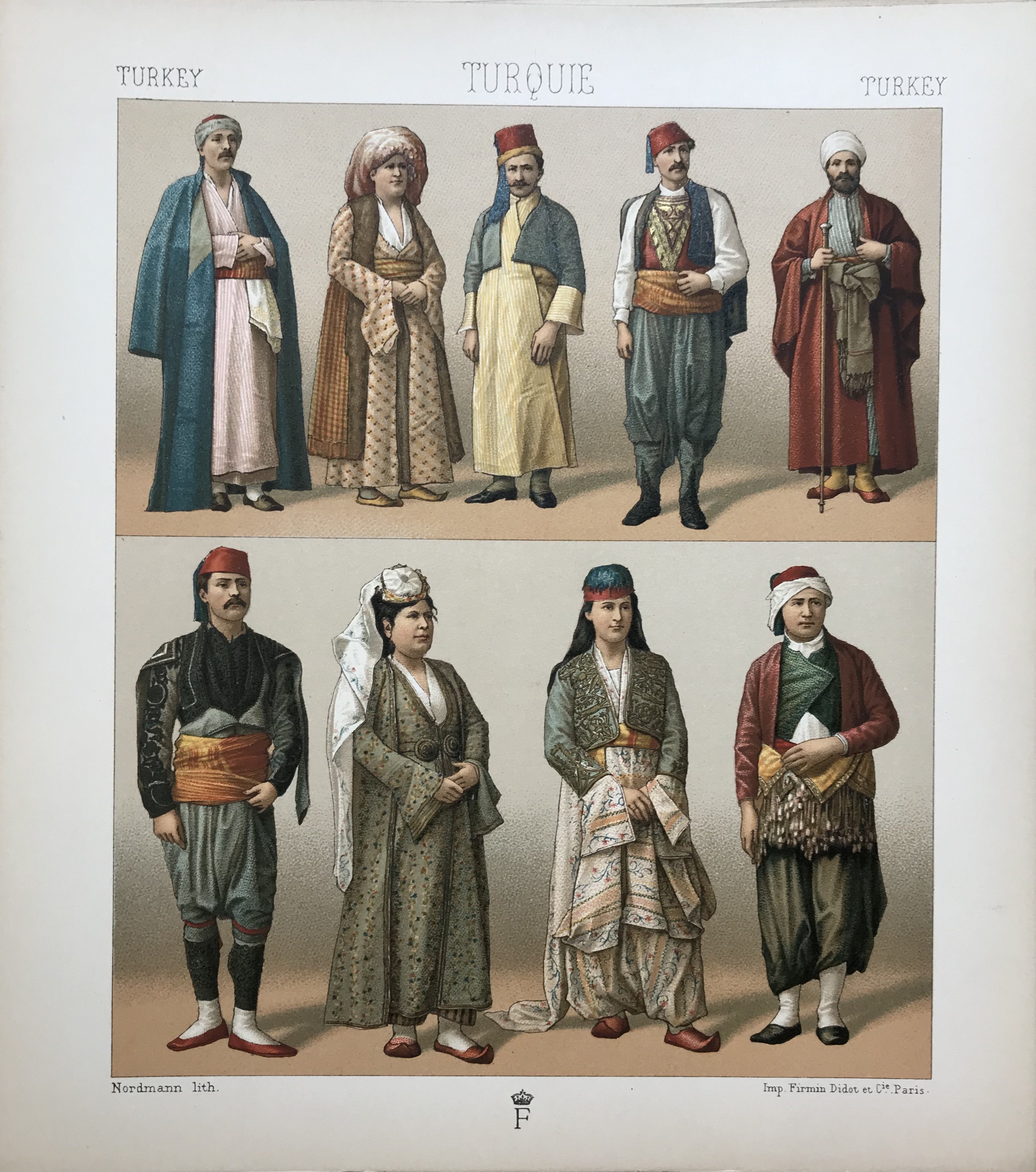 Turkish, Historic Costumes