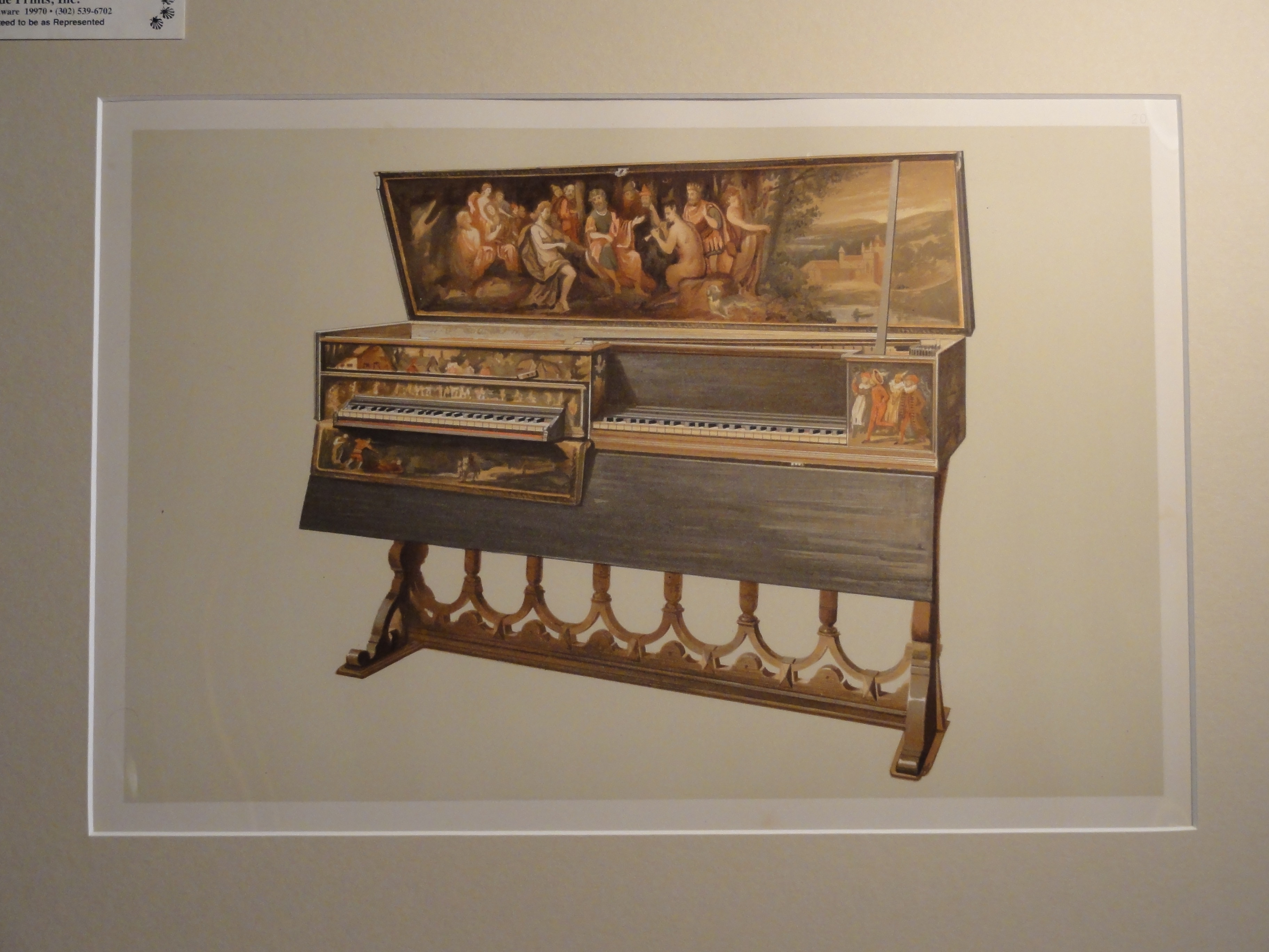Double Spinet